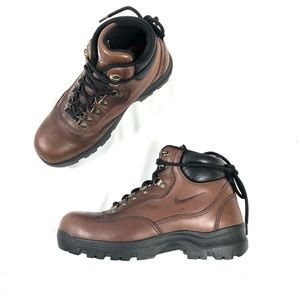 Nike ACG Brown Leather Hiking Boots 865038